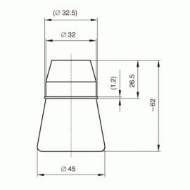 Objímka keramická E27 /1332-146