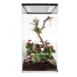 Live terrarium 50x50x100 with lighting