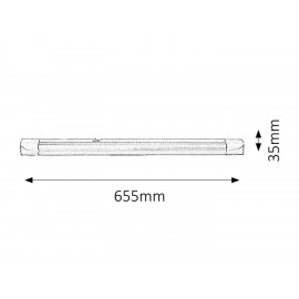 Band light T8 18w / 65,5cm