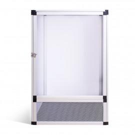 Aluminum terrarium 45x45x80 cm ReptiEye