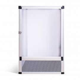 Aluminum terrarium 42x42x66 cm ReptiEye
