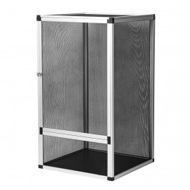 Flexárium 50x50x100 cm stříbrné ReptiEye